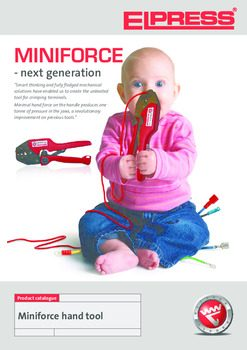 Mini Force Crimp Tools