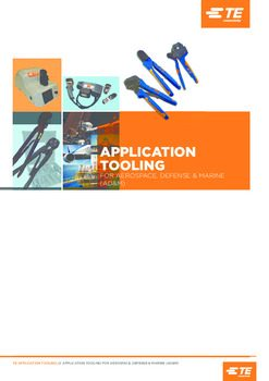 TE Connectivity – Application Tooling AD&M